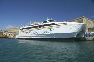 Virtu Ferries. De Malte jusqu'en Sicile.